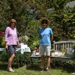 Rae and Judith with their winning entries