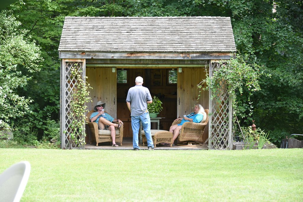 Garry and Lela's garden shed